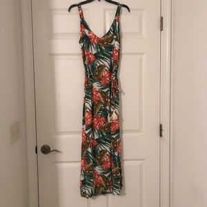 Forever 21 Tropical Maxi Dress